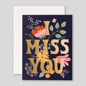 Rifle Paper Co. | I Miss You | Colours May Vary
