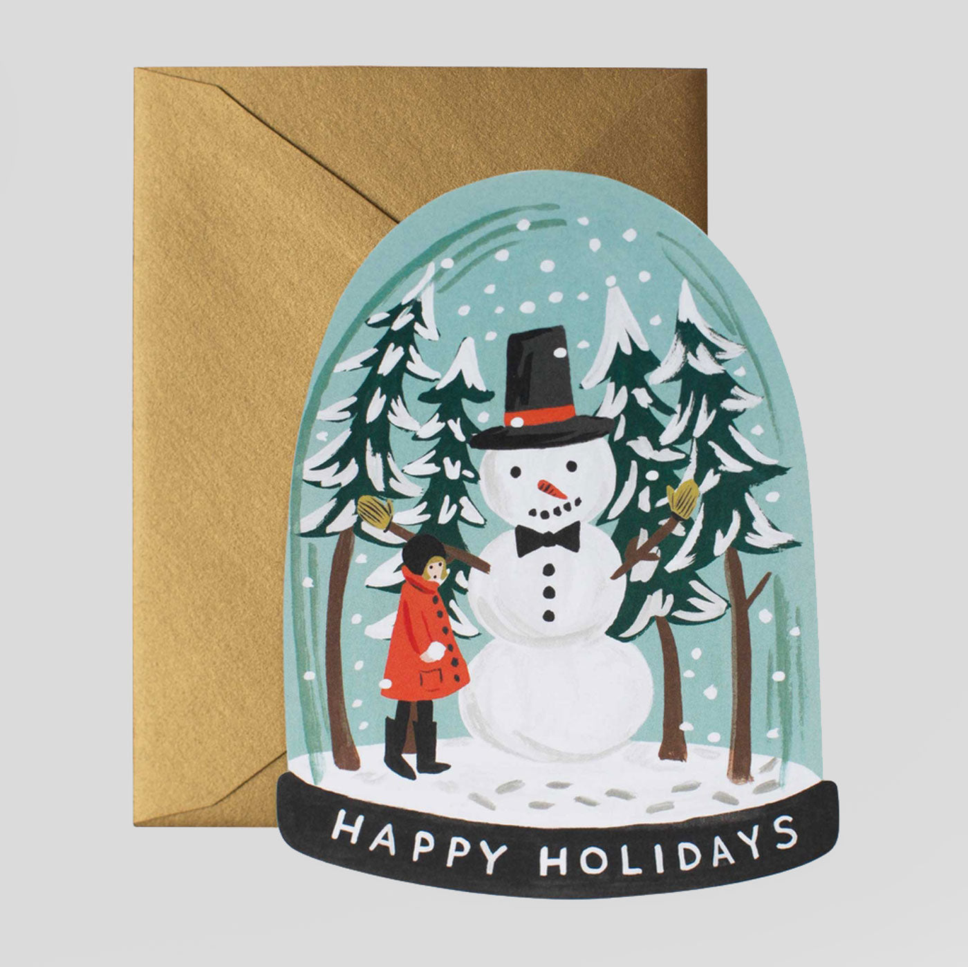 Rifle Paper Co. |   Snow Globe Card | Colours May Vary
