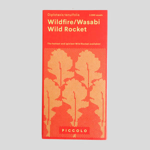 Piccolo Seeds - Rocket Wildfire/Wasabi