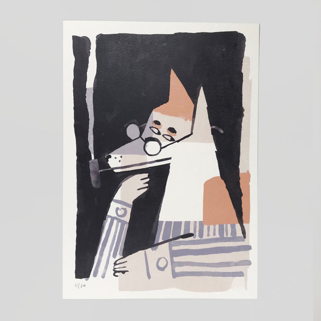 The Contemplative Sort by Roman Muradov for Year Of The Dog