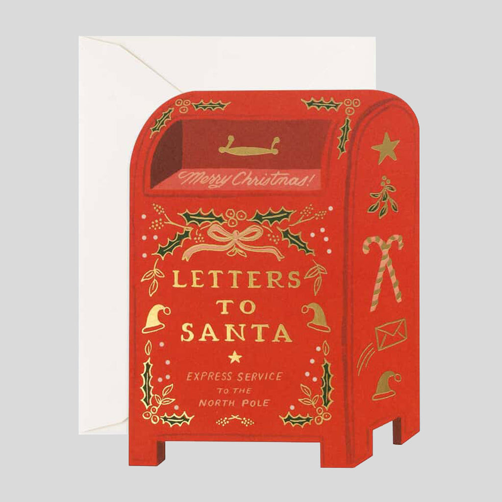 Copy of Rifle Paper Co. |   Letters To Santa Card | Colours May Vary