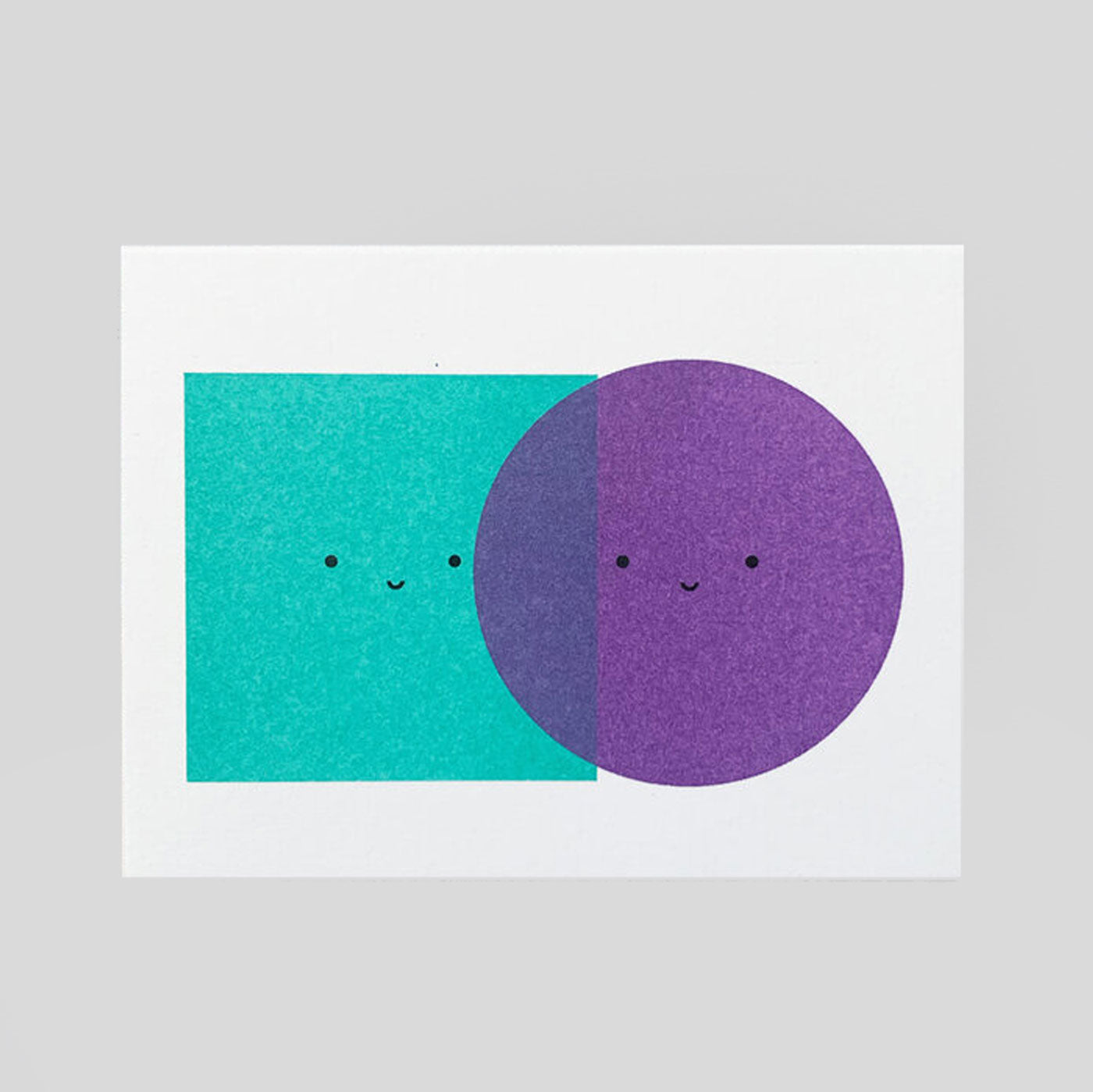 Scout Editions - Colour Blocking Mini Riso Card.