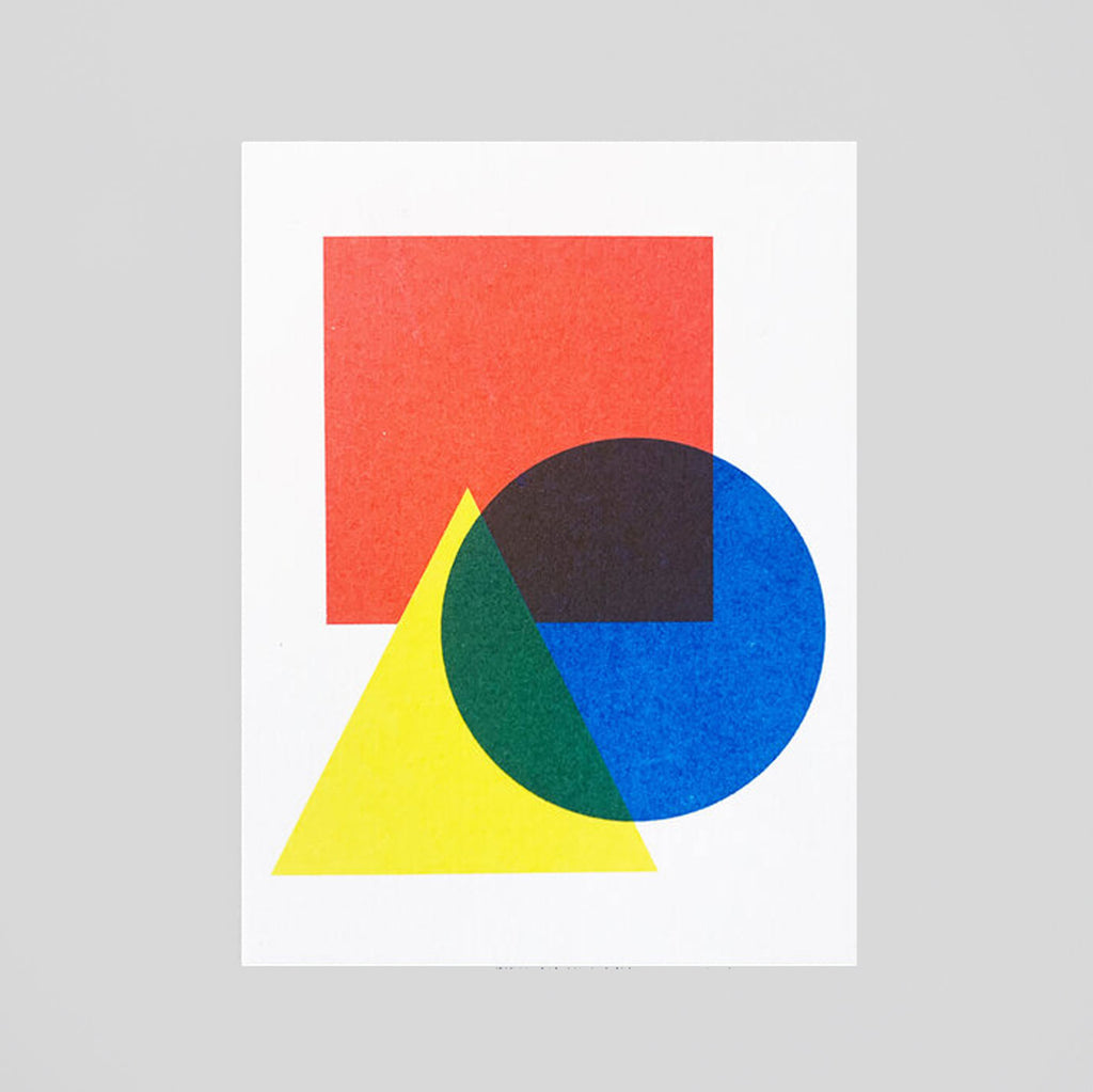 Scout Editions -Bauhaus Mini Riso Card.