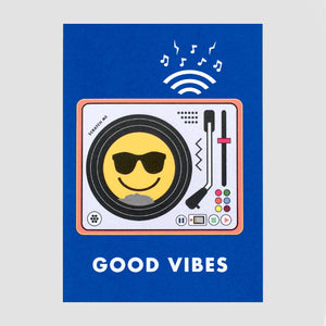 IAMA SCRATCH CARD - GOOD VIBES