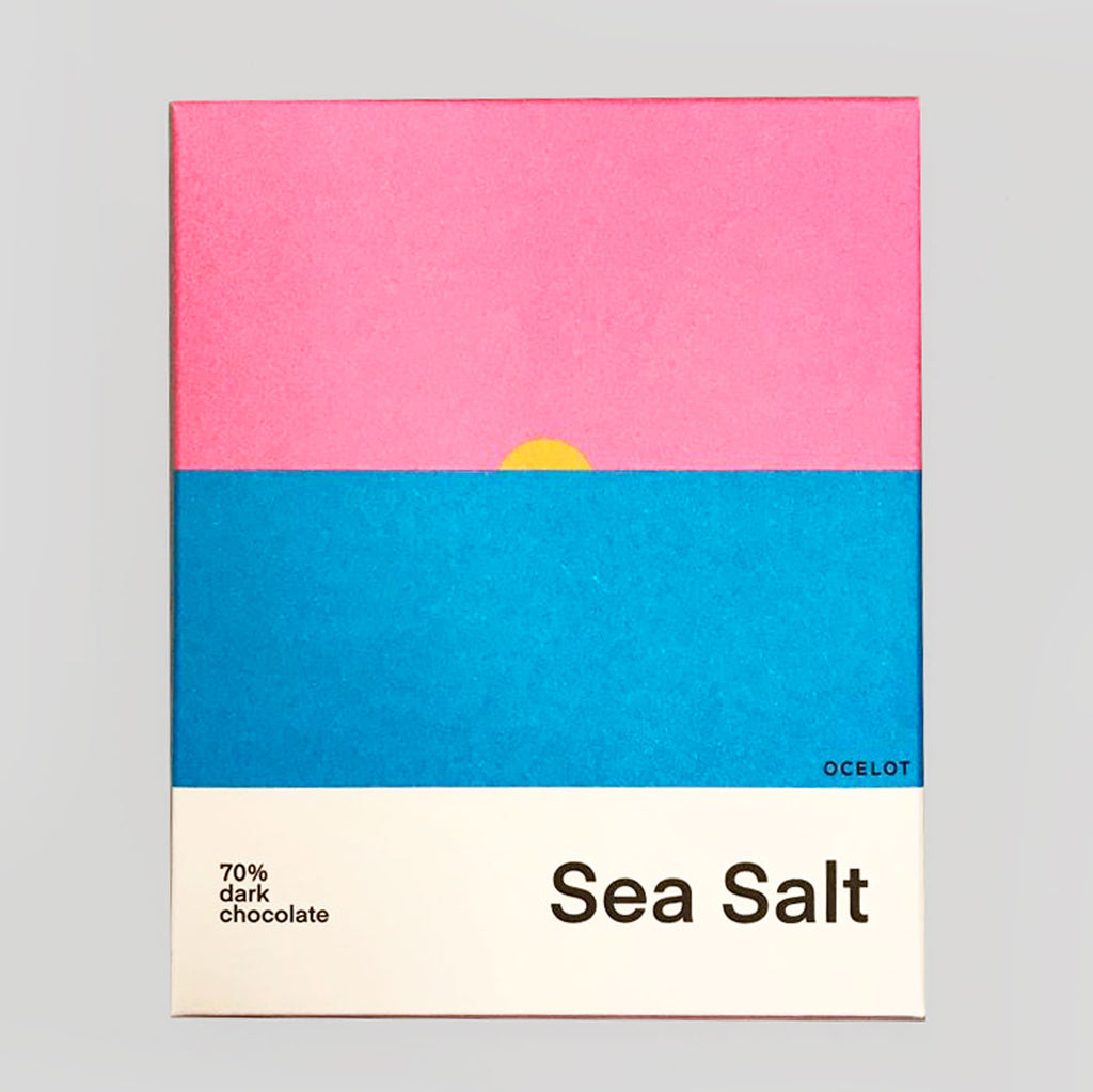 Ocelot Chocolate | Sea Salt | Colours May Vary