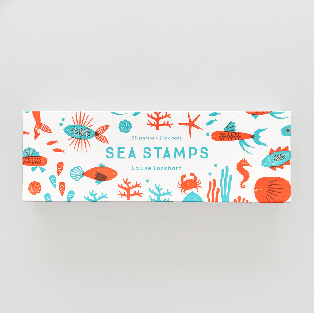 Sea Stamps by Louise Lockhart - Colours May Vary