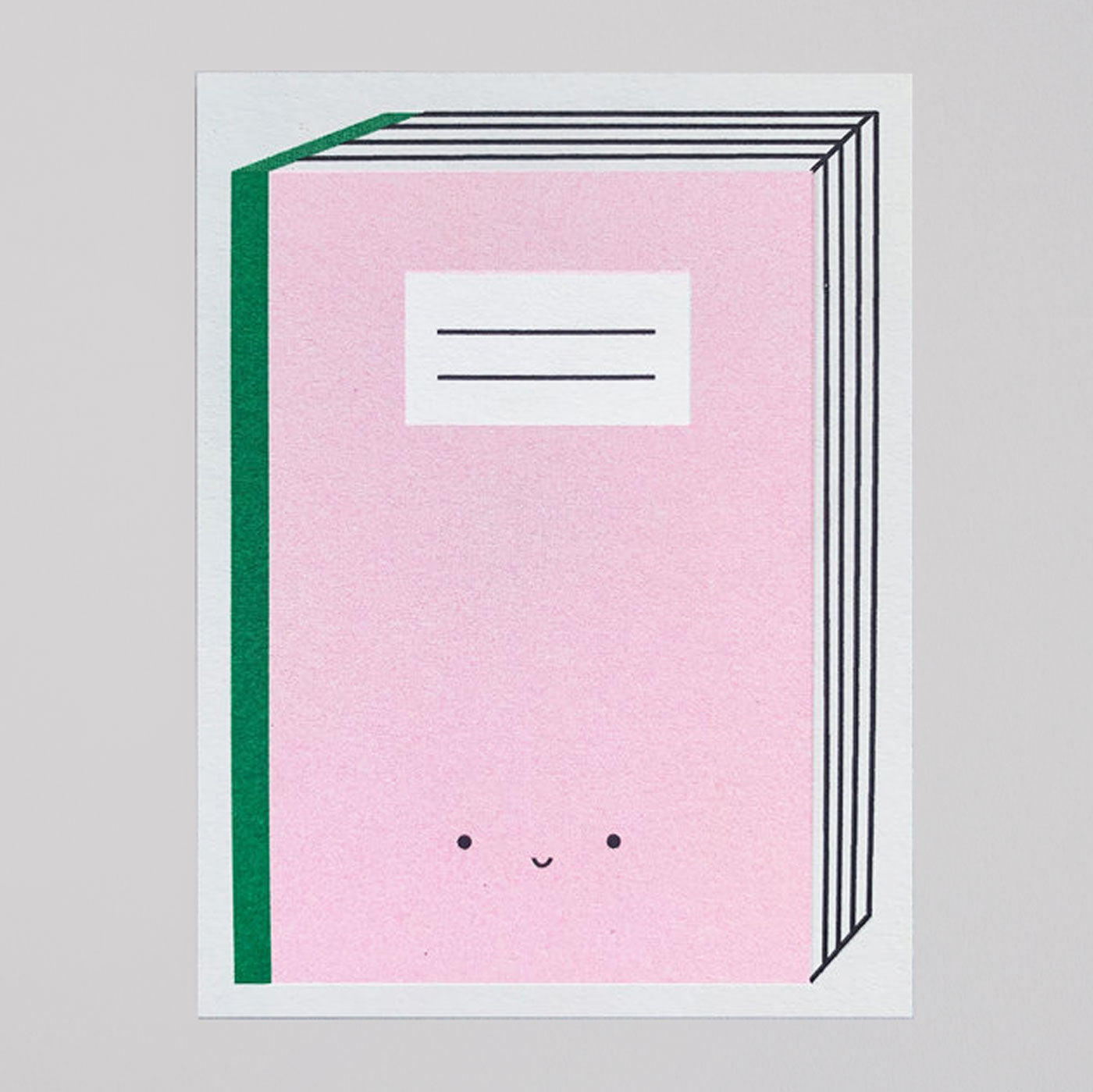 Scout Editions - Book Mini Riso Card - Colours May Vary