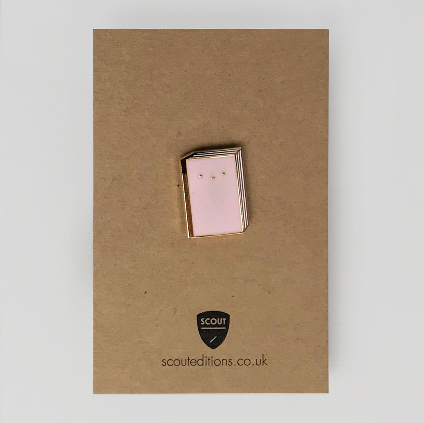 Book Pin by Scout Editions - Colours May Vary