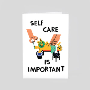 Cari Vander Yacht For Wrap - Self Care Card