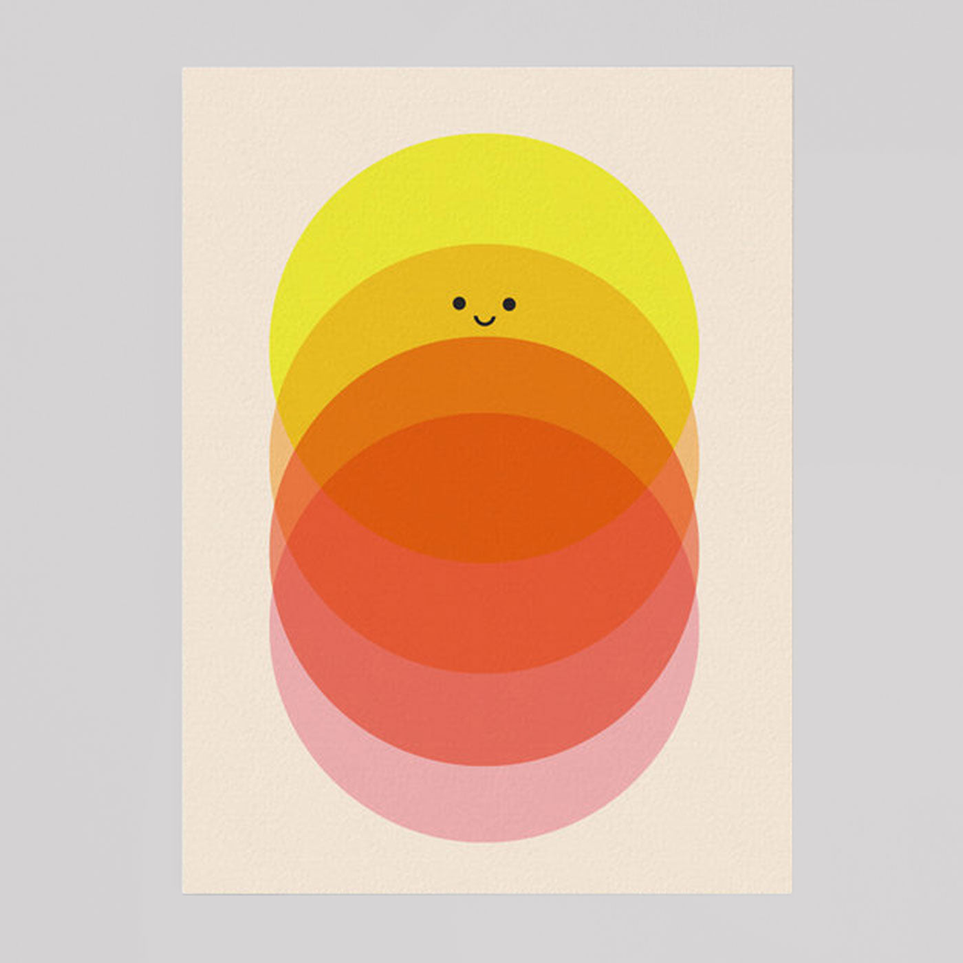 Scout Editions - Sunrise to Sundown Mini Riso Card - Colours May Vary