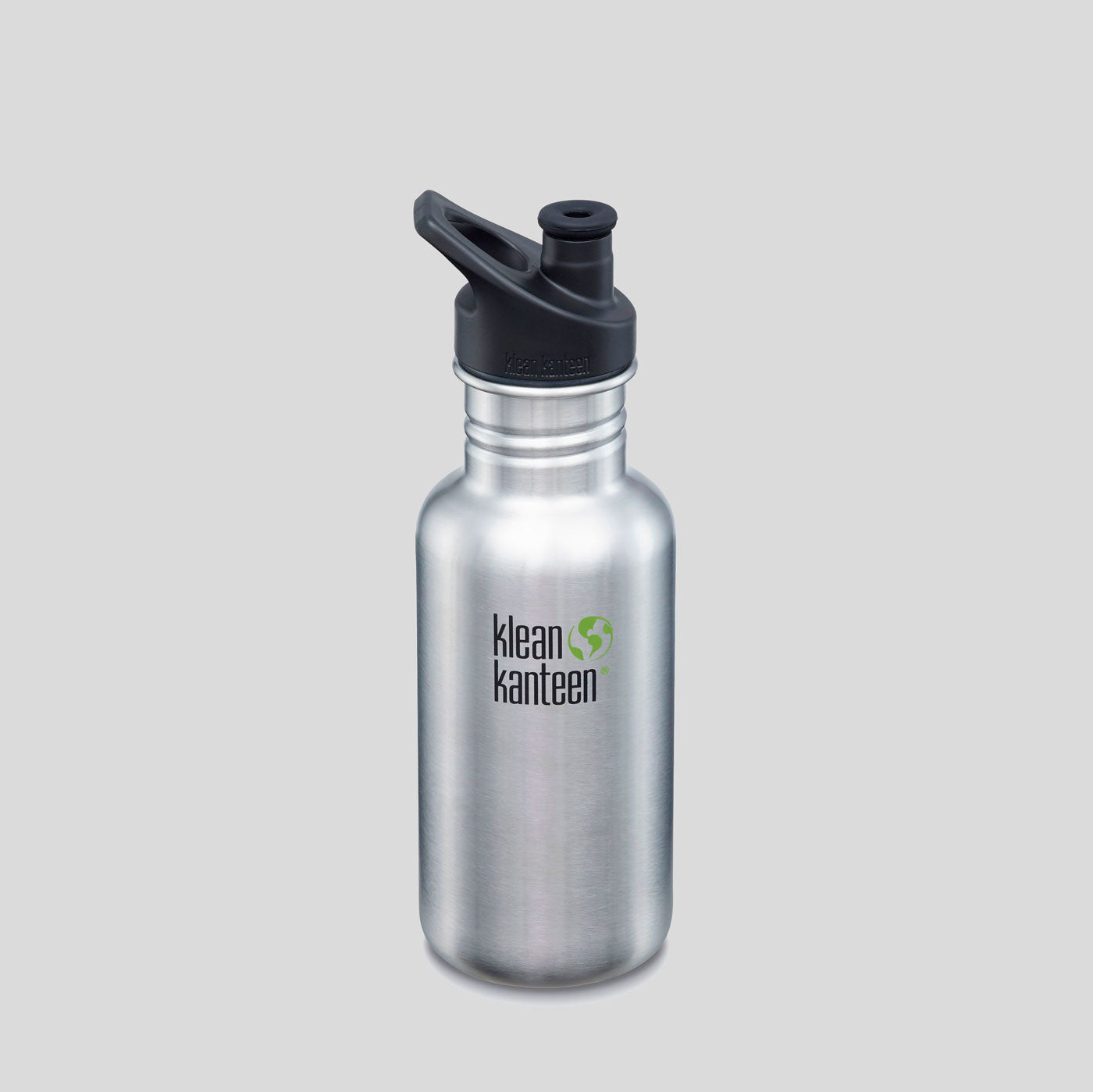 Klean Kanteen | Classic 18oz | Brushed Stainless Steel | Colours May Vary