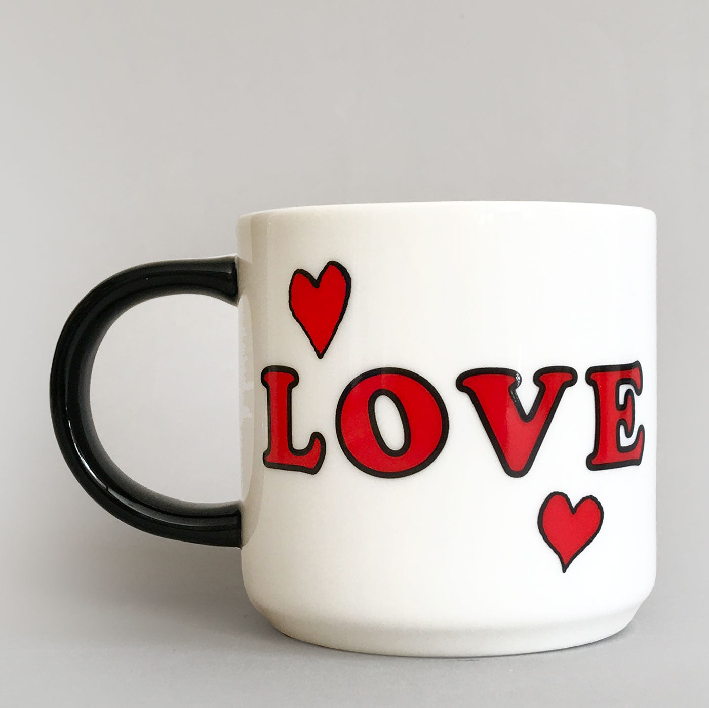 Peanuts Mug - Love | Snoopy Woodstock | Colours May Vary