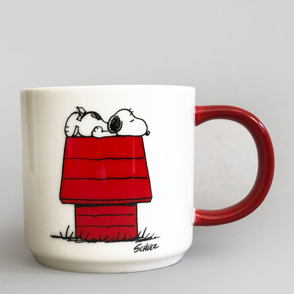 Peanuts Mug - I Think I'm Allergic To Mornings - Colours May Vary