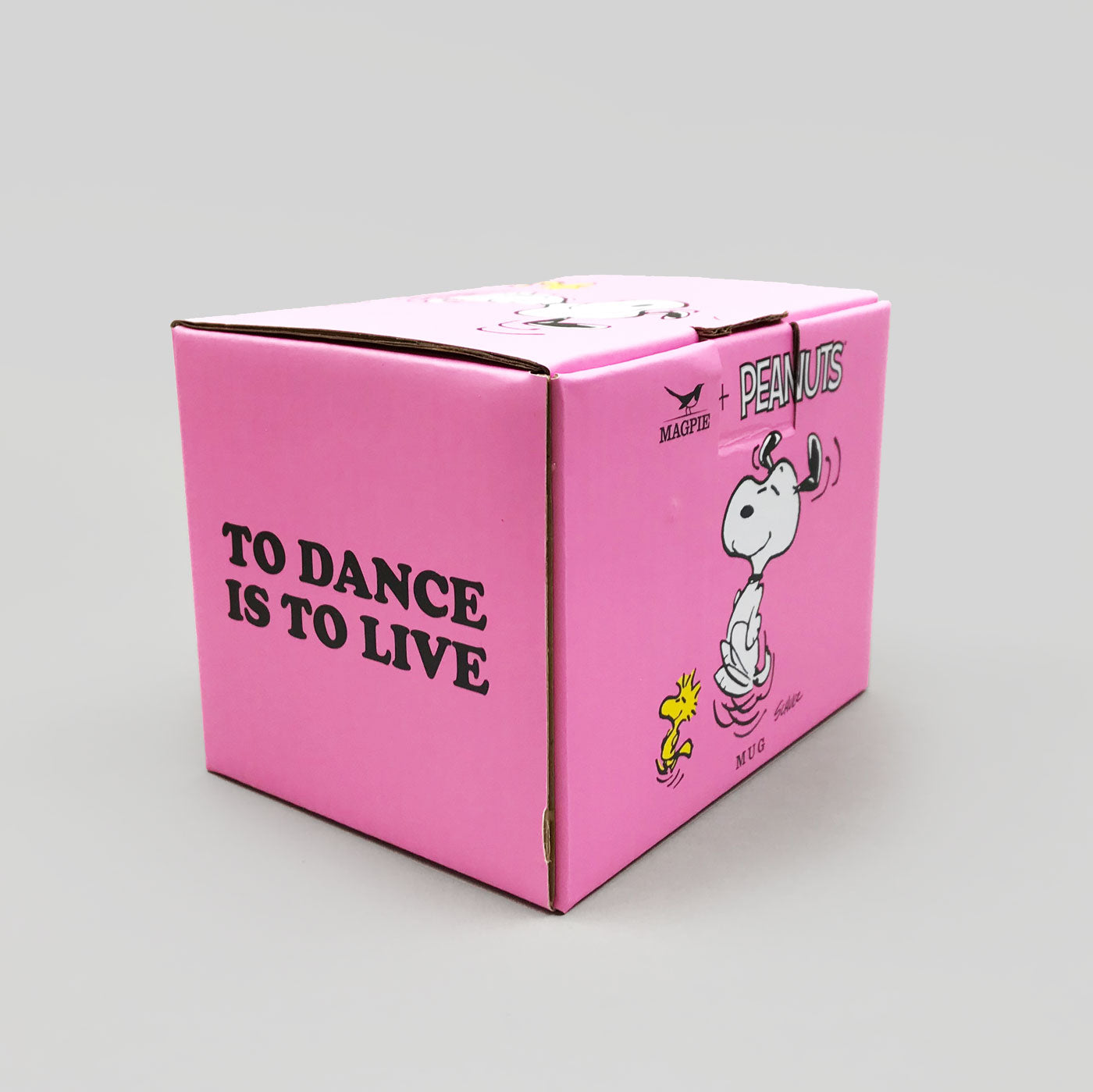 Peanuts Mug -To Dance is To Live - Colours May Vary