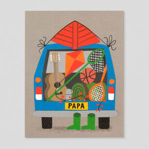 Station Wagon by Lisa Jones Studio