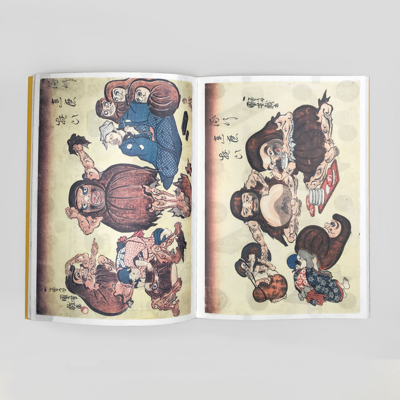 Surpise! by Kuniyoshi: Ukiyo-e Paper Book