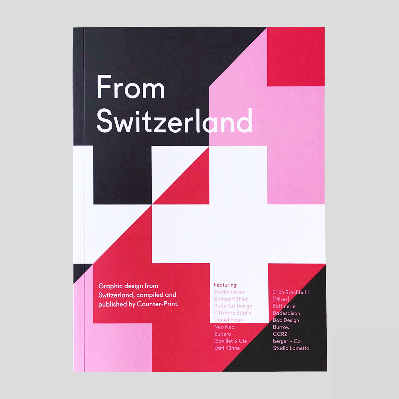From Switzerland by Counter-print | Colours May Vary