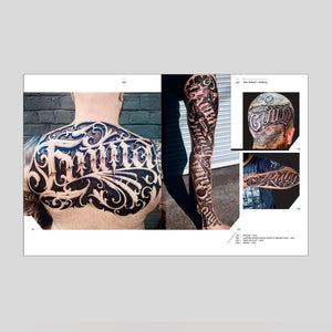 The Graphic Art of Tattoo Lettering - B.J. Betts & Nick Schonberger - Colours May Vary