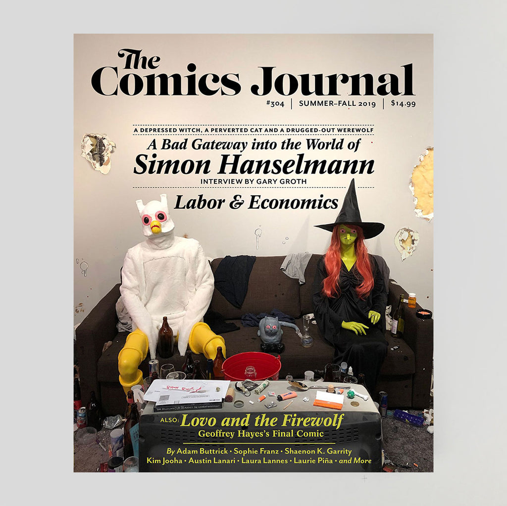 The Comics Journal #304 'Simon Hanselmann' - Colours May Vary