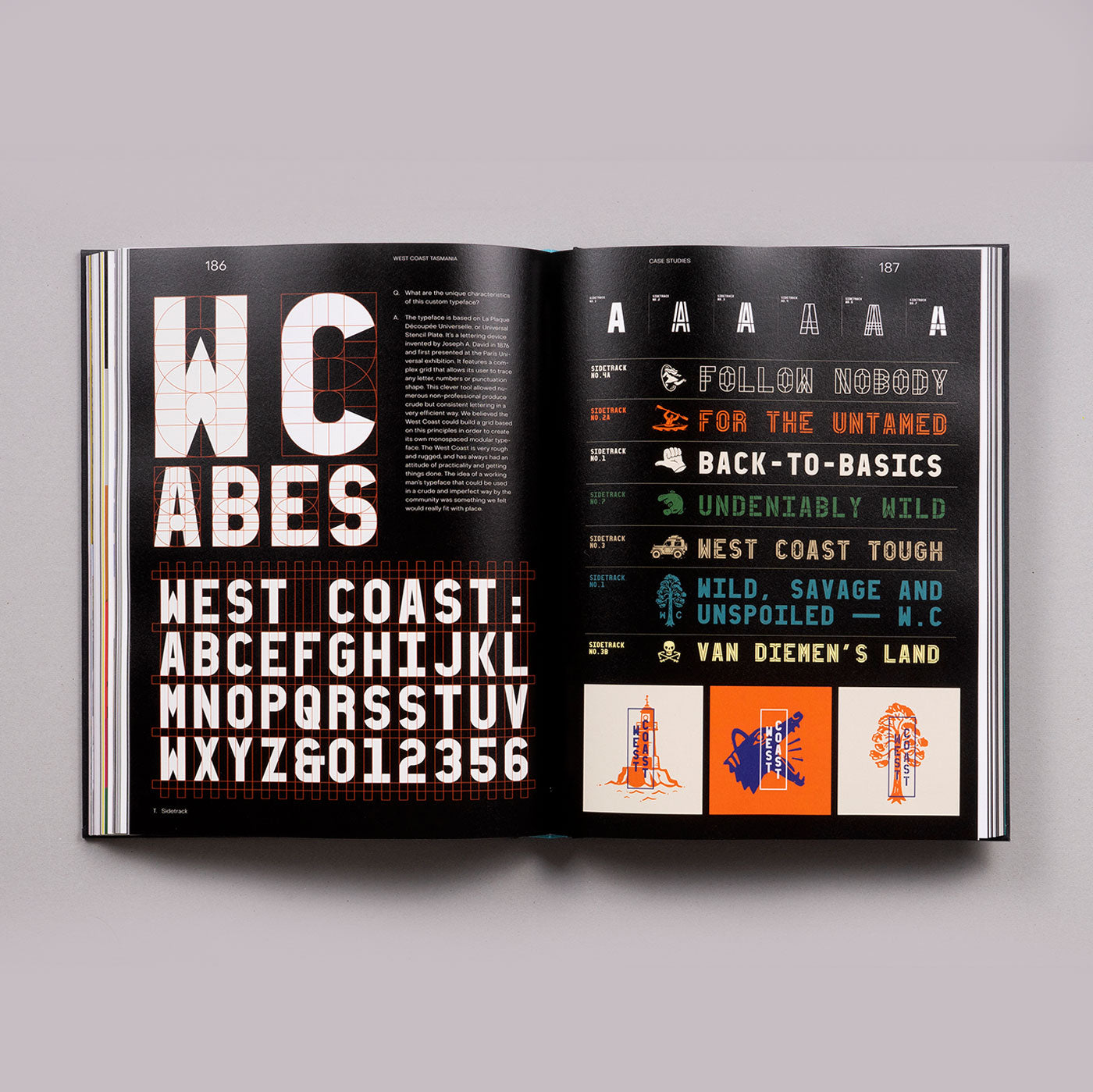 Type For Type: Custom Type Solutions for Identity Design - Victionary - Colours May Vary