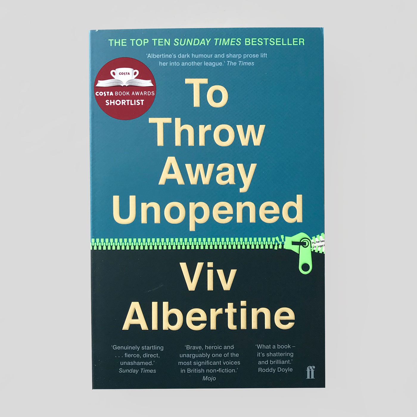 To Throw Away Unopened | Viv Albertine | Colours May Vary