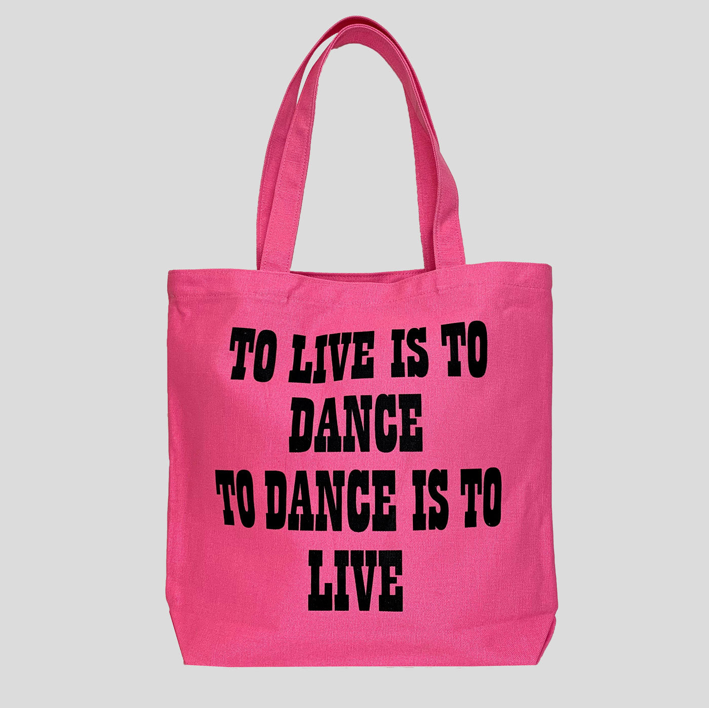 Peanuts Tote - To Dance Is To Live