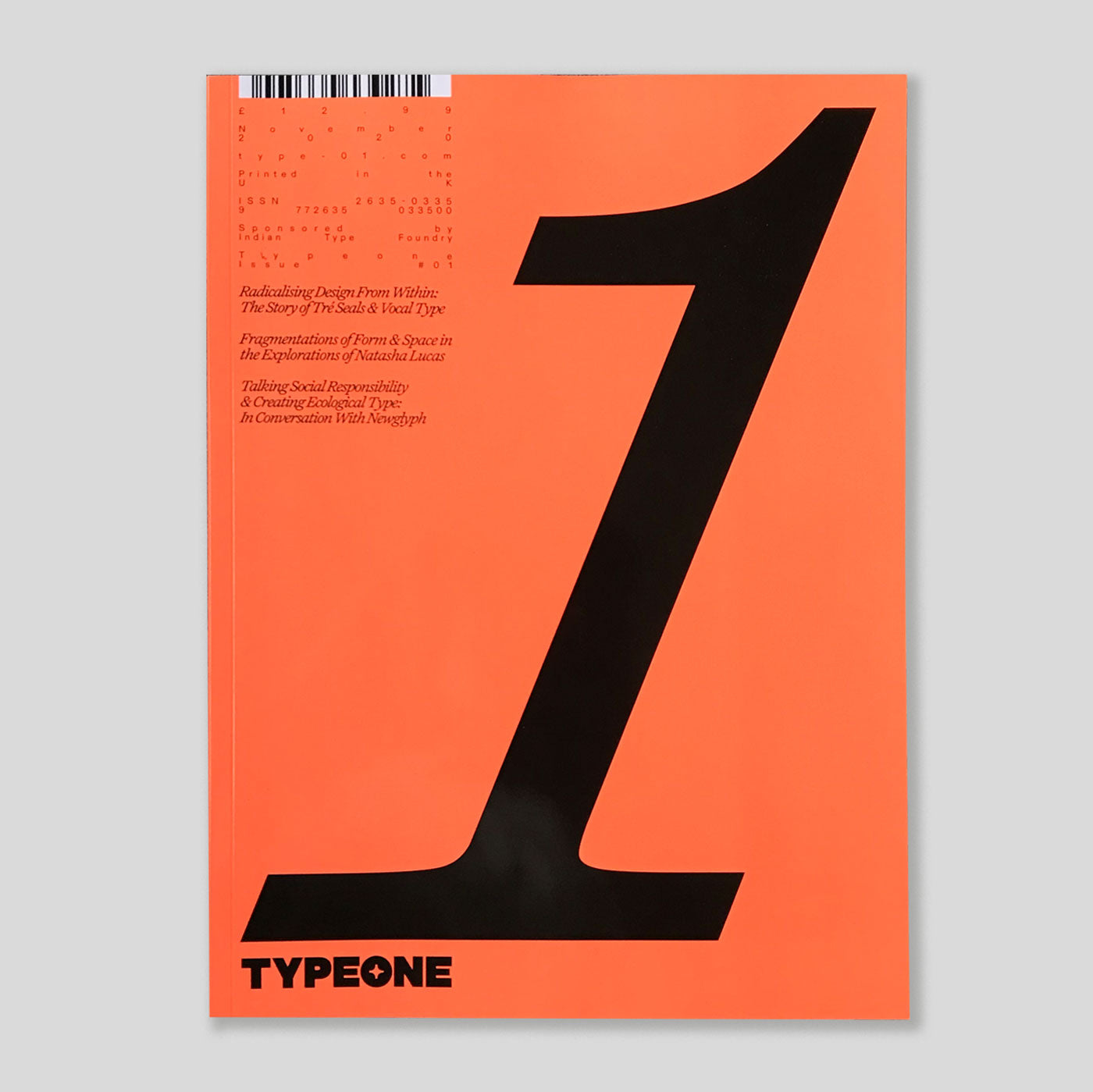 Typeone Magazine #01 | Colours May Vary