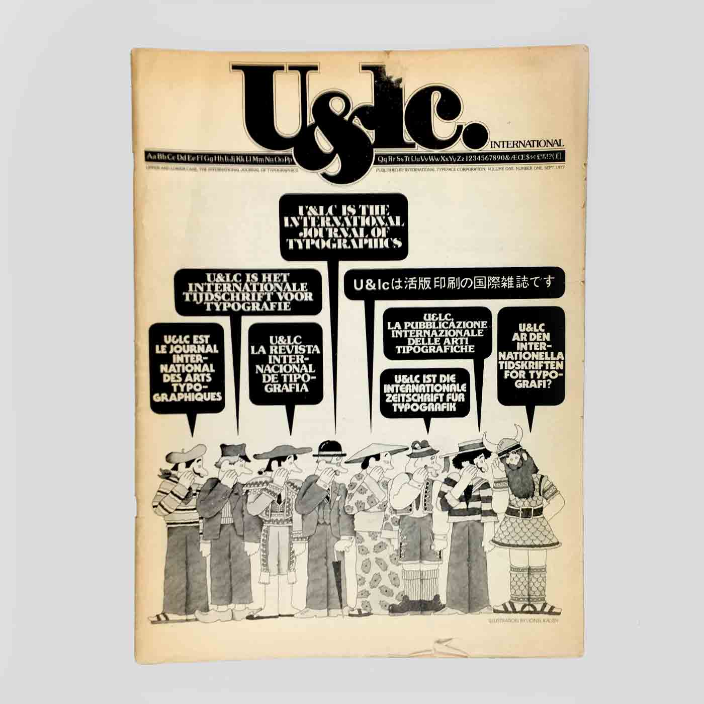 U&lc Vol. 1, No. 1, Sept 1977