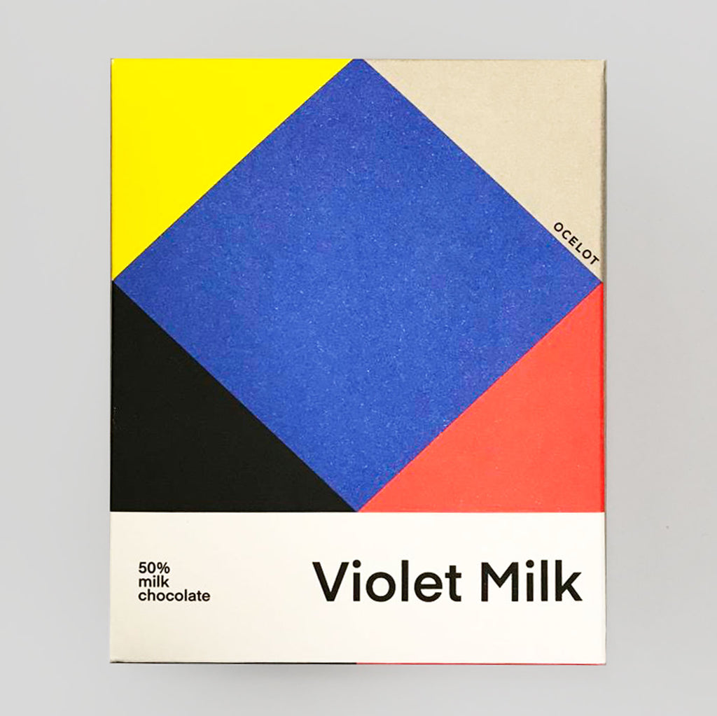 Ocelot Chocolate | Violet Milk | Colours May Vary