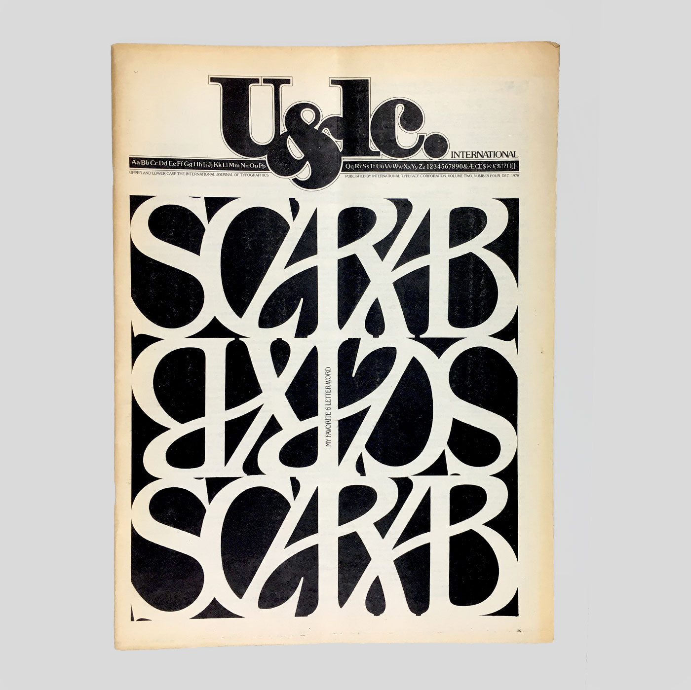 U&lc Vol. 2, No. 4, Dec 1978