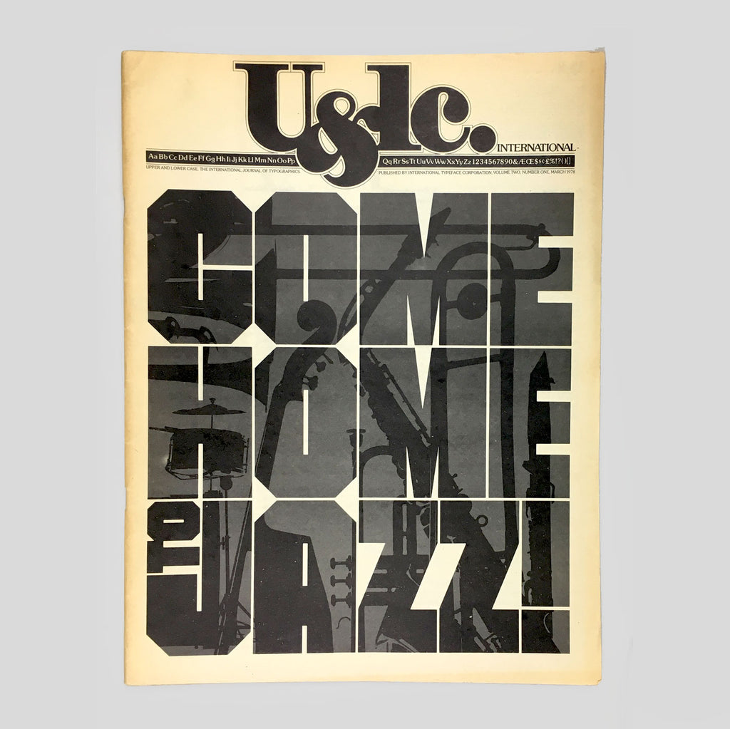U&lc Vol. 2, No. 1, March 1978