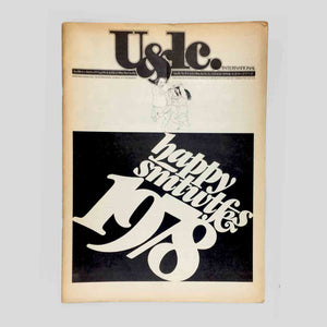 U&lc Vol. 1, No. 2, Jan 1978