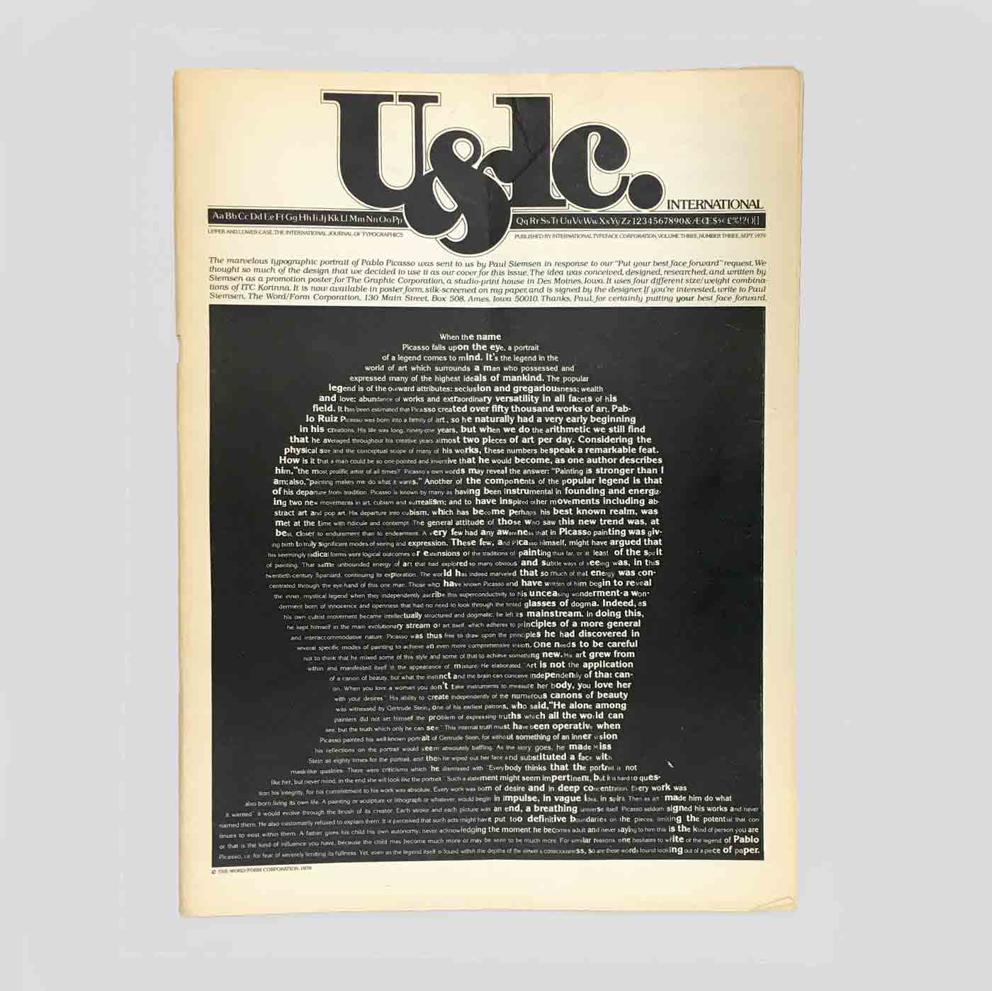 U&lc Vol. 3, No. 3, Sept 1979