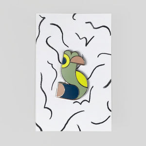 William Luz - Parrot Pin