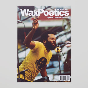 Wax Poetics Europe #1 - Special Collector's Edition - Colours May Vary