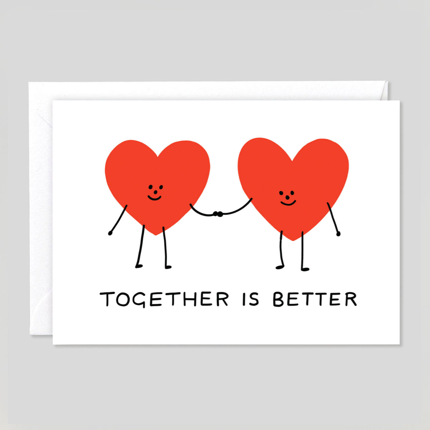 Holly St Clair For Wrap | 'Together Is Better' Card | Colours May Vary