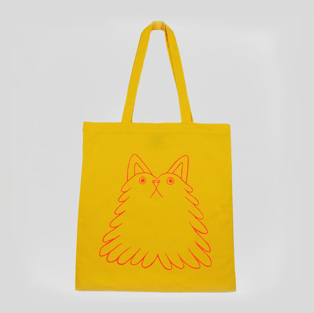 Fluff Buddy Screenprinted Tote - Yuk Fun