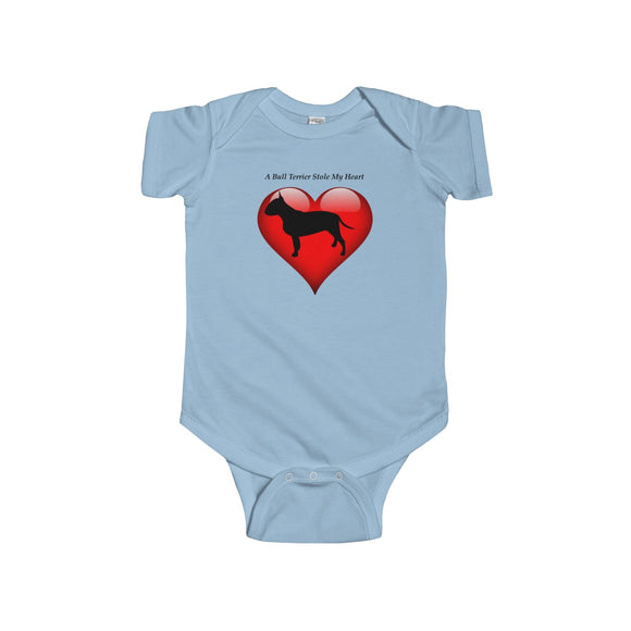Bull Terrier Infants Unisex Bodysuit