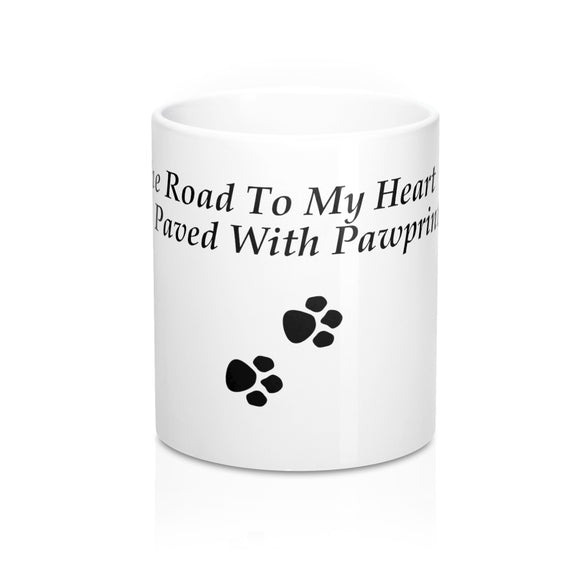 The Road To My Heart Mug!