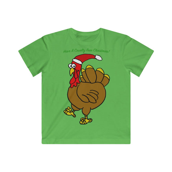 Have A Cruelty Free Christmas Kids Unisex Tee!