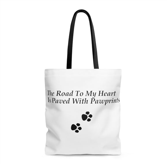 The Road To My Heart Tote Bag