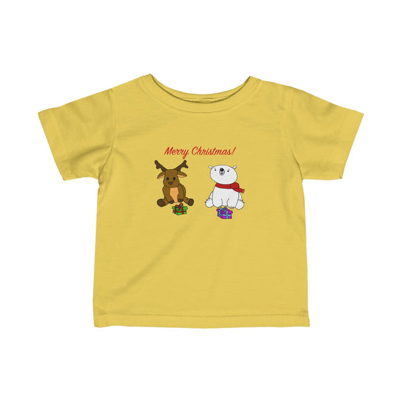 Have A Beary Deer Christmas Infants Unisex Tee!