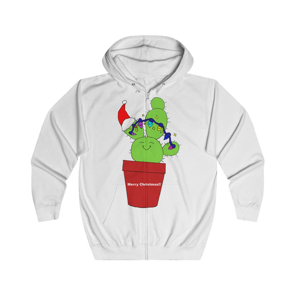 Oh Cactus Tree Adults Unisex Full Zip Hoodie!