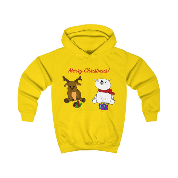 Have A Beary Deer Christmas Kids Unisex Hoodie!