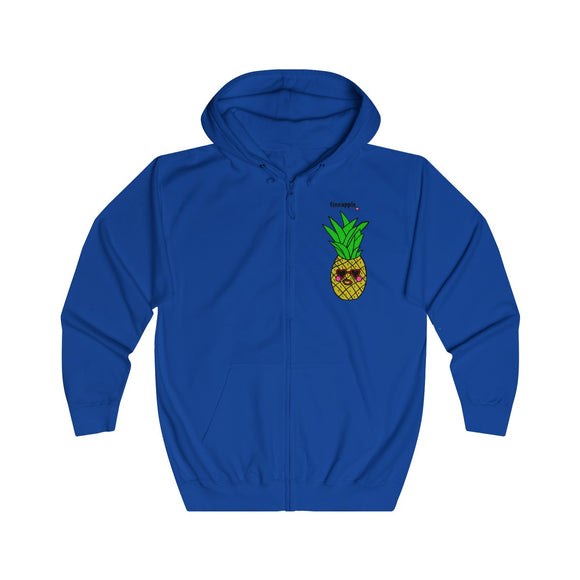 Fineapple Adults Unisex Full Zip Hoodie!