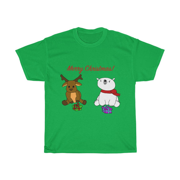 Have a Beary Deer Christmas Adults Unisex Tee!