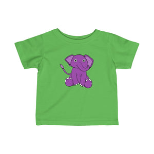 Ellie The Elephant Infants Unisex Tee!
