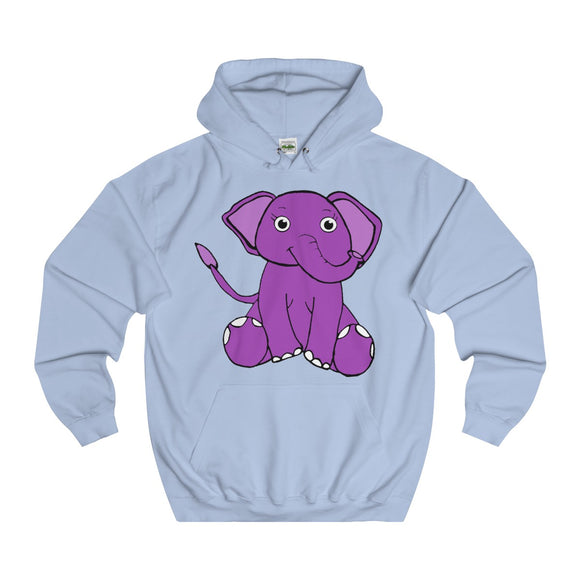 Ellie The Elephant Adults Unisex Hoodie!