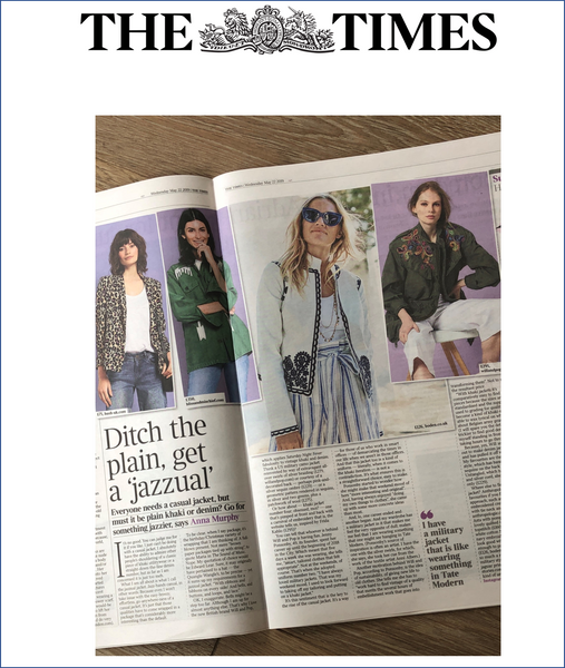 Times Fashion Desk Article by Anna Murphy