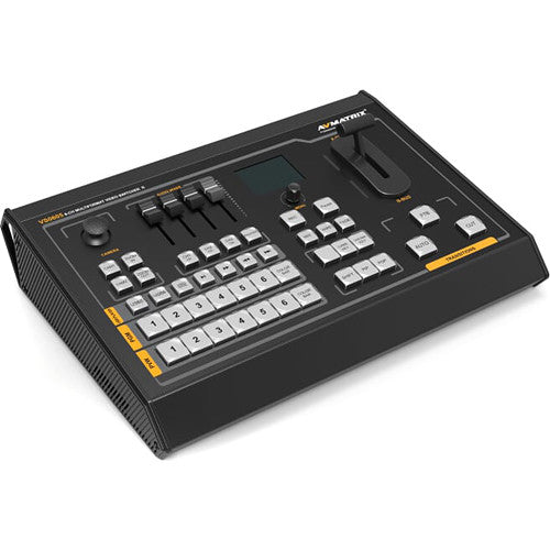 Portable 6 Channel Multi-format Video Switcher